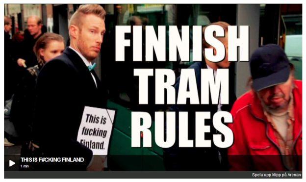 Finnish Tram Rules