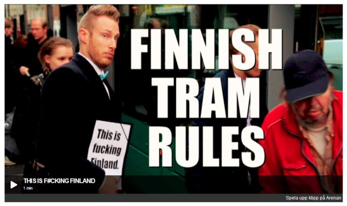 Finnish Tram Rules