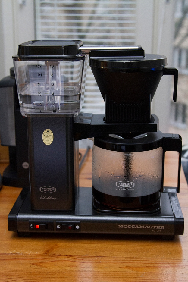 how to use moccamaster coffee maker