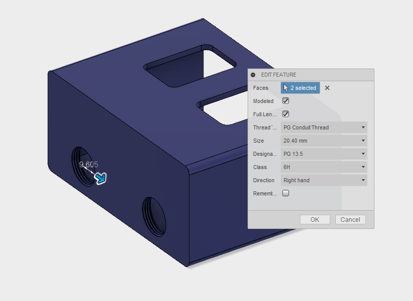 Custom Thread Definitions in Autodesk Fusion 360 – PG Conduit